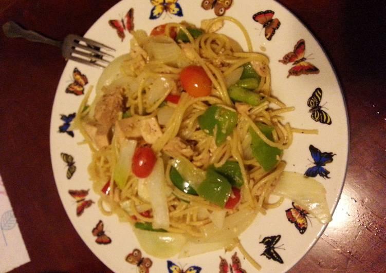Hot Pasta Tuna 😈