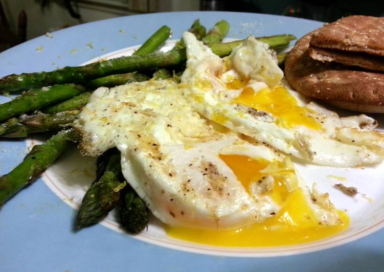 Easiest Way to Make Tasty skye's sunshine eggs and asparagus… seriously, it's  amazing!