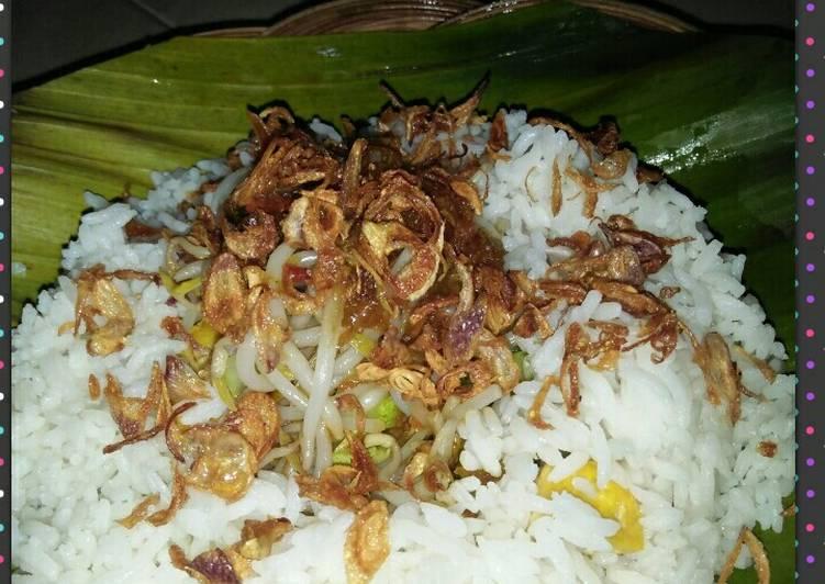 """Bagaimana Membuat nasi lengko """"dadakan"""" khas Cirebon  Anti Gagal"""