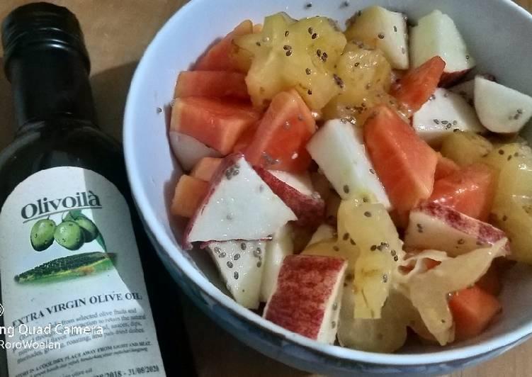 Fruits salad chiaseed