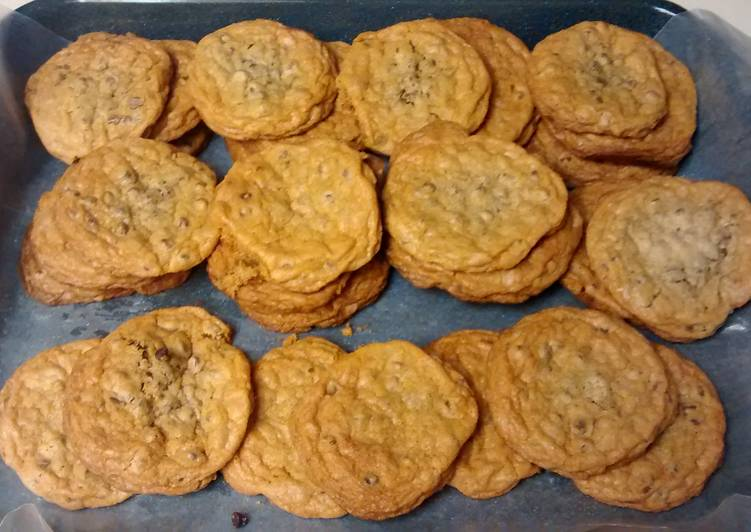 A Lot of Chocolate Chip Cookies