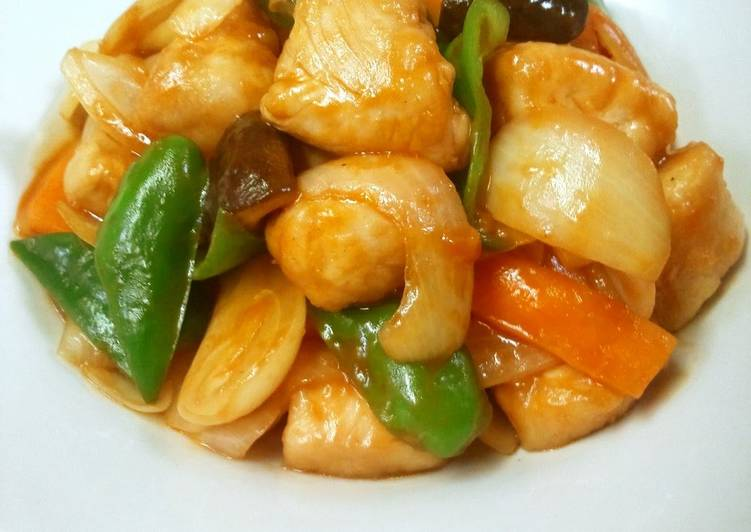 15 Minute Simple Way to Prepare Super Quick Homemade Delicious and Healthy Sweet & Sour Pork With Chicken Tenders