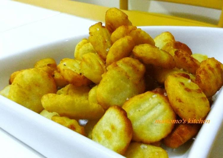 Try Using Food to Improve Your Mood Fried Gnocchi Made with Mashed Potatoes
