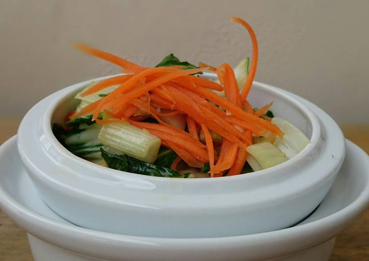 Bak Choy With Carrot