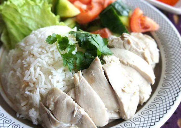 Recipe of Perfect Singapore Chicken Rice (Khao Man Kai)