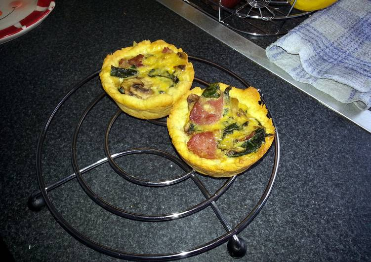 The Food Items You Pick To Feed On Are Going To Effect Your Health mini quiches