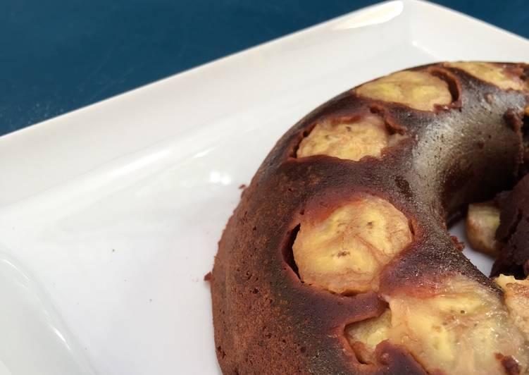 recette Fondant choco-banane Le plus simple