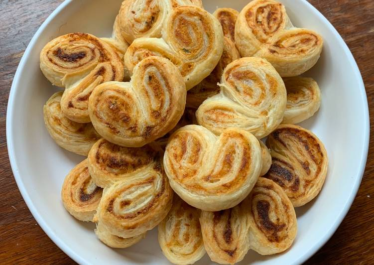 How to Prepare Yummy ☆Palmiers Saumon et Fines Herbes☆