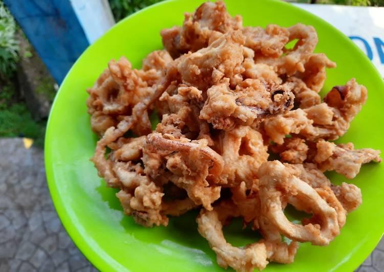 Cumi goreng tepung a.k.a Calamari ring