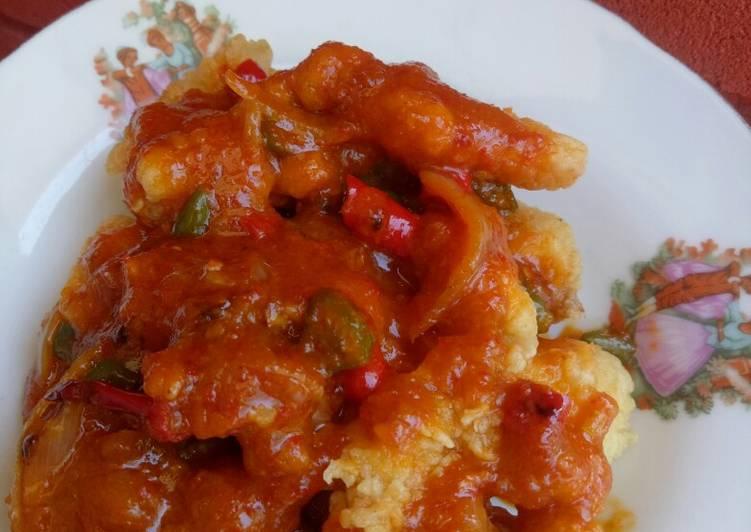 Ayam Filet Saus Padang