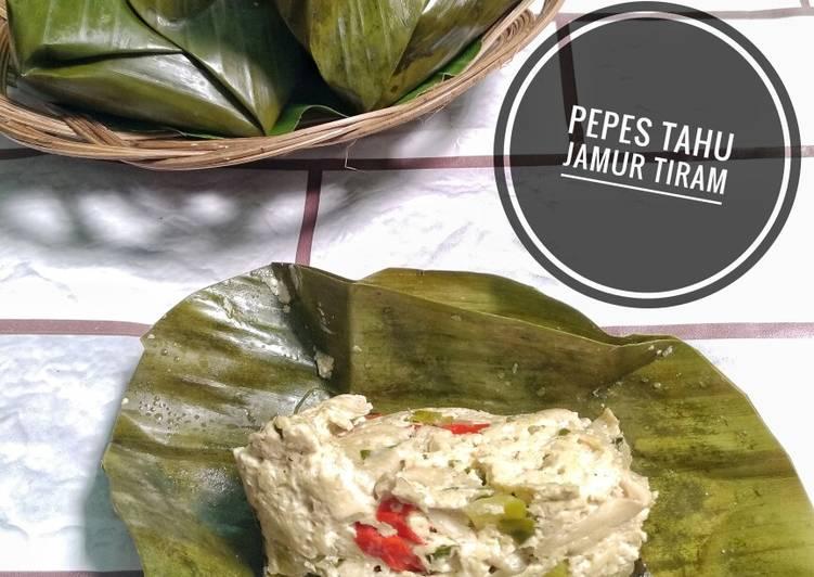 Resep Pepes Tahu Jamur Tiram Yang Lezat Sekali Resep Dapur Ema