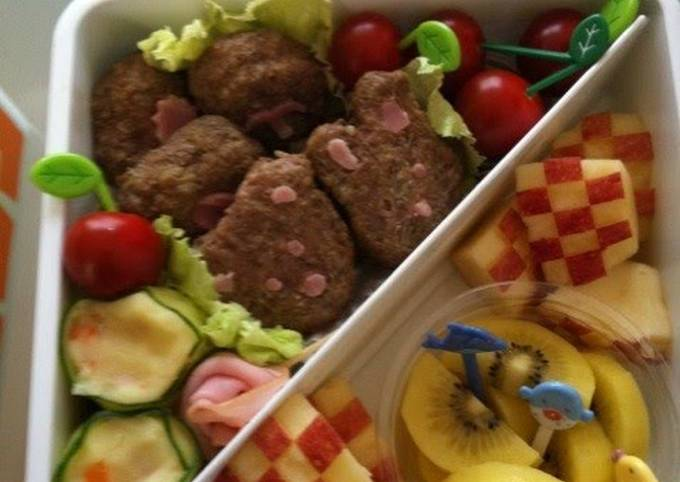 Sakura Viewing Bento to Make the Kids Happy (Side Dishes and Desserts)