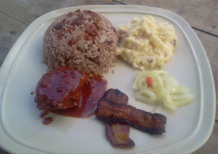 Belizean Rice and Bean