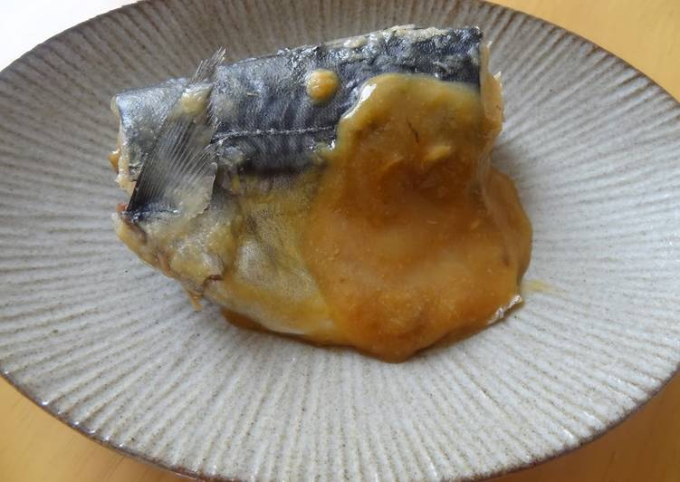 Easiest Way to Prepare Perfect Mackerel Simmered in Sweet Miso