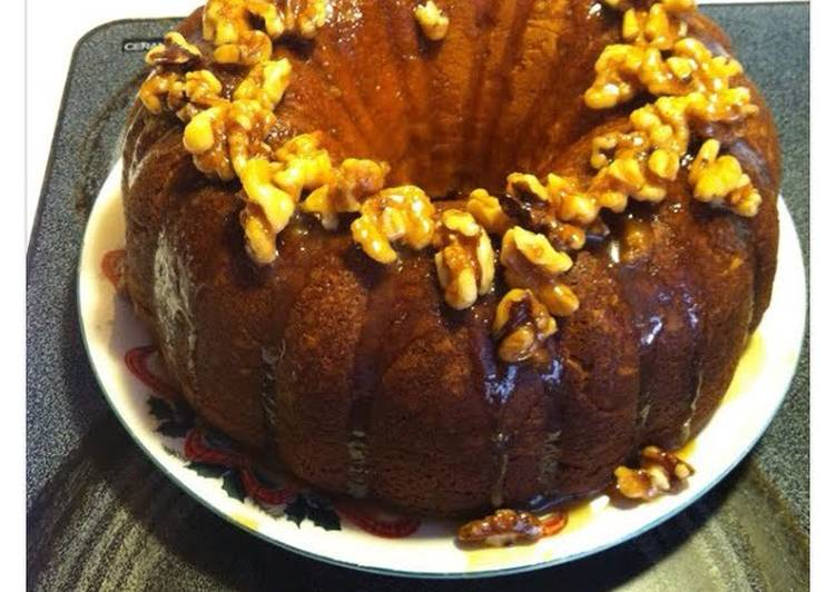 Ms Kim's Pumpkin Cake