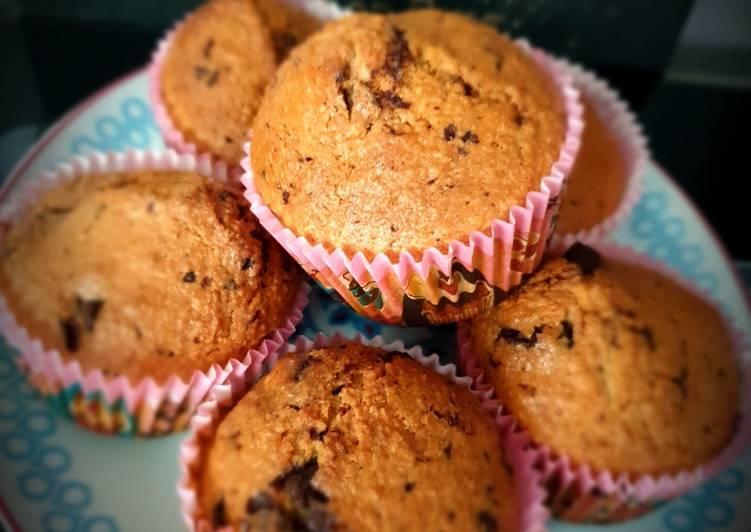 Muffins choco/coco au lait d'amande