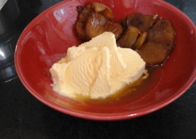 My Rum Toffee Pineapple Bake 😄😉
