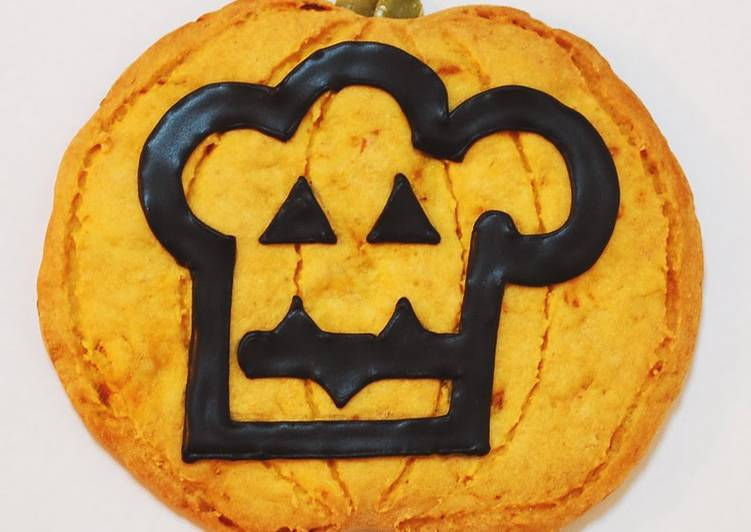 Cookpad Logo Cookie for Halloween!