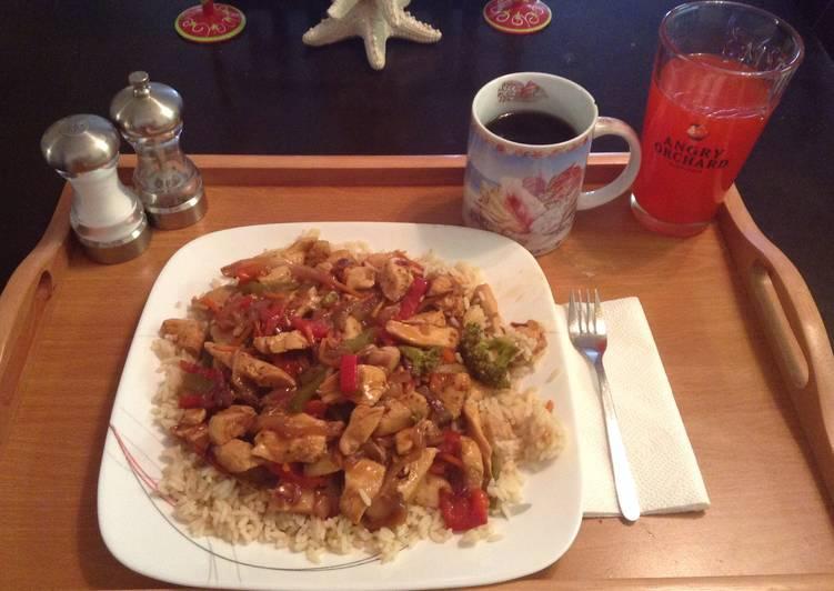 Wifey Chicken Stir-Fry