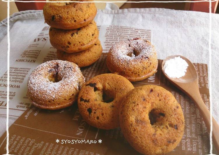 Recipe of Award-winning Caramel Chocolate Baked Donuts