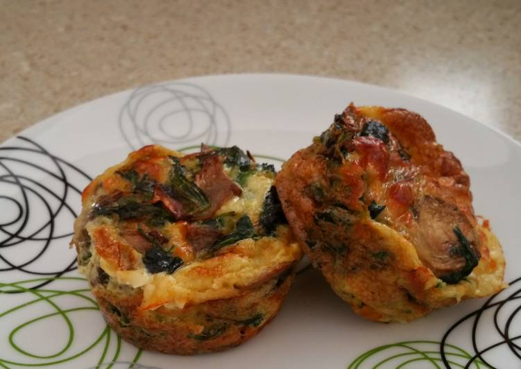 Your Overall Health Can Be Effected By The Foods You Decide To Consume Healthy mini Quiche - 81 calories
