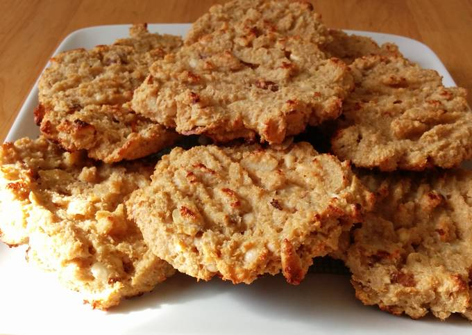 Recipe Good 10 mins Oatmeal cookies
