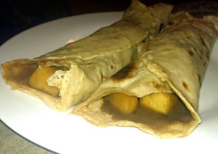 Sophie's caramel apple pancakes