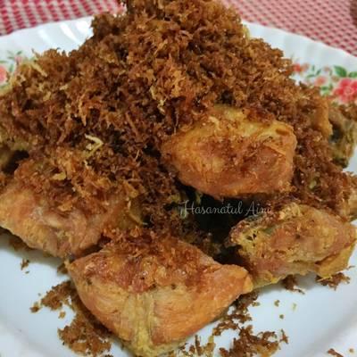 Resep Ayam Bumbu Serundeng Khas Padang Oleh Hasanatul Aini Cookpad