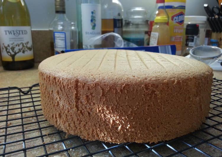 Foolproof sponge cake