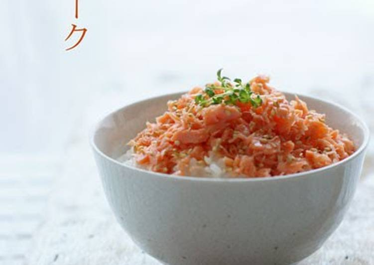 Recipe of Favorite Astonishing Salmon Flakes