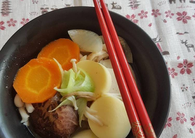 Turn to Food to Boost Your Mood Mushroom Miso Udon