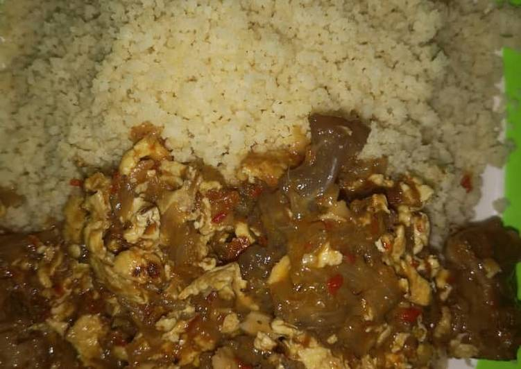 Deciding On The Best Foods May Help You Stay Fit And Healthy Couscous with egg sauce By RuNas Kitchen