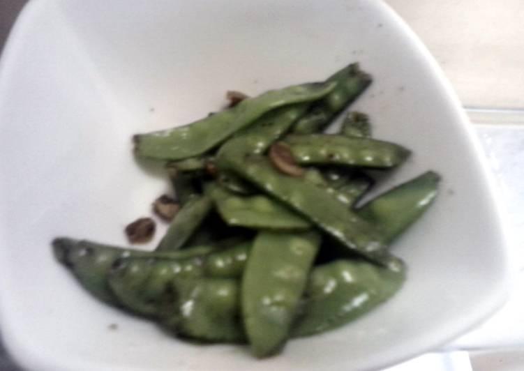 How to Prepare Favorite Sauteed Sugar Snap Peas