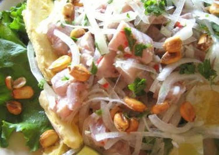 Peruvian Cuisine -- Ceviche