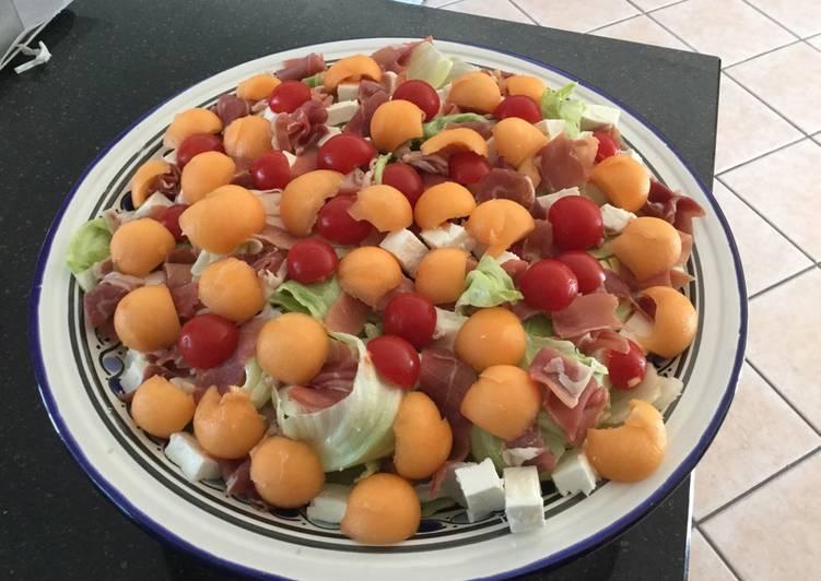 Salade fraîcheur pour canicule
