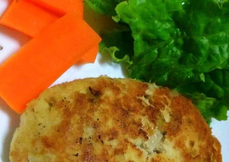 Simple Healthy Okara Burger