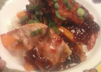 Easiest Way to Cook Delicious Brads cranberry sweet n sour pork