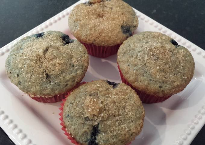Recipe: Yummy Blueberry muffins