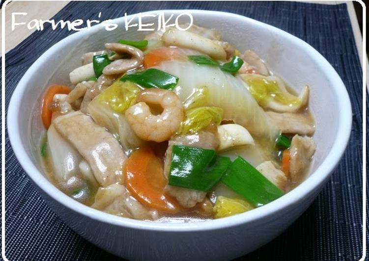 How to Make Tasty Chop Suey Rice Bowls with Lots of Vegetables