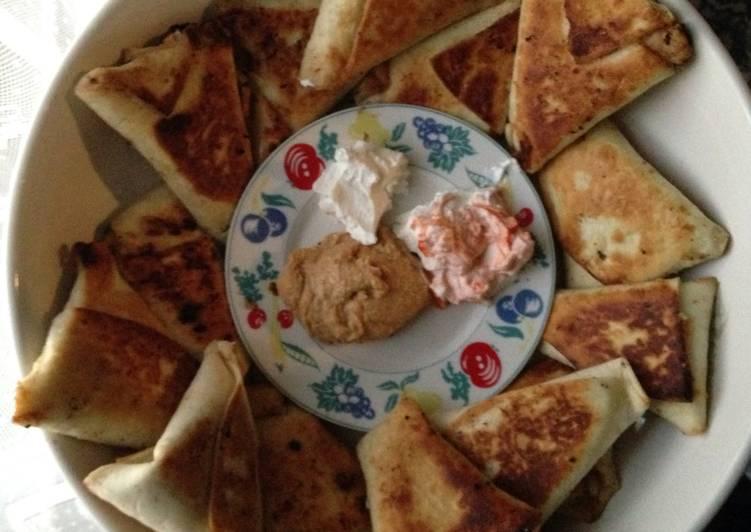 Homemade Samosas (Lazy Version)