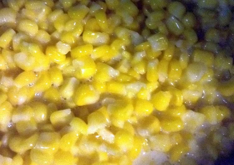 Recipe of Ultimate Just Like Granny's Cream Corn