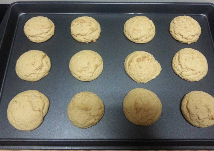 Steps to Make Homemade peanut butter cookies