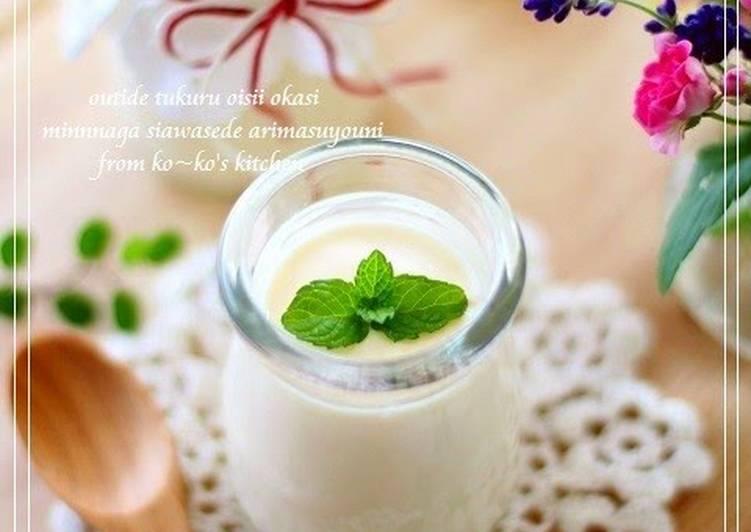 Super Rich Creamy Cheese Pudding