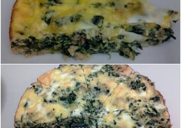 Step-by-Step Guide to Make Homemade Fratta for da heart (spinach and turkey)