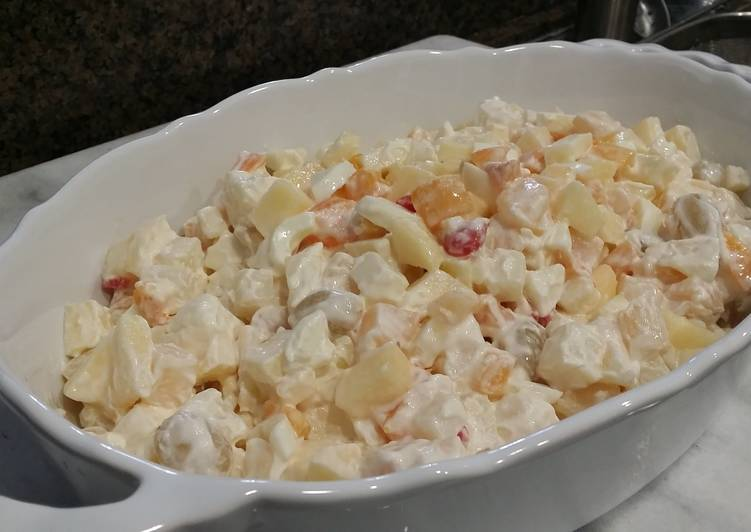 Potato Fruit Salad