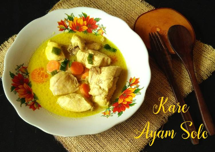 Kare Ayam Solo - cookandrecipe.com