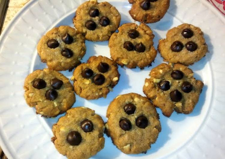 Easy as 1-2-3-4 Peanut butter cookies