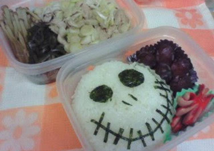 How to Cook Delicious The Nightmare Before Christmas Halloween-Themed Charaben