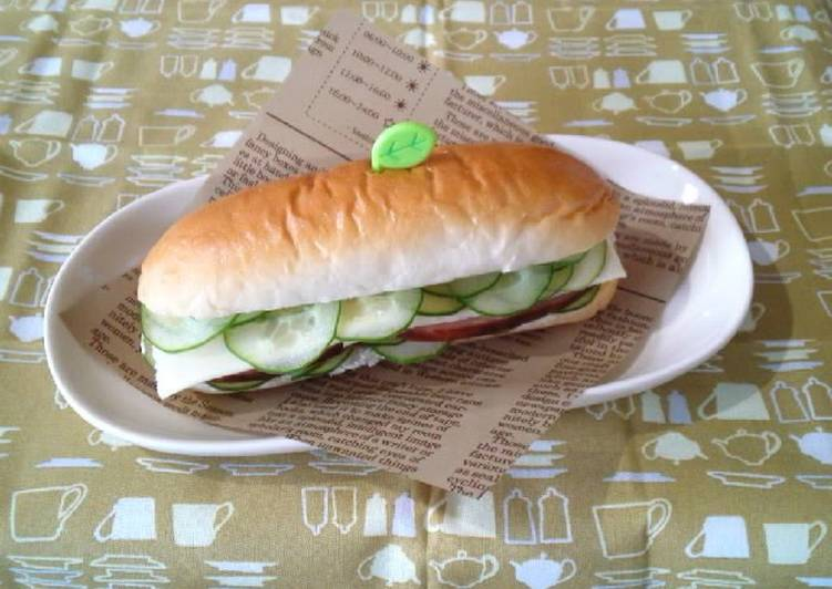 Recipe: Perfect Make This With Your Kids! Roast Pork Sandwich