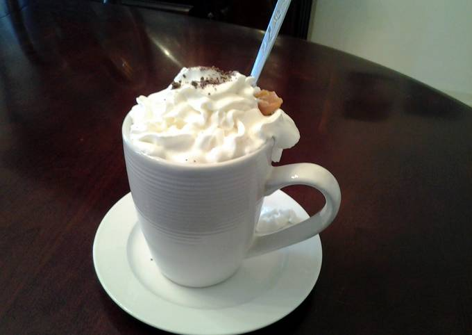 Easiest Way to Cook Appetizing Caramel Mocha Hot Chocolate